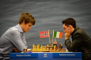 Tatasteel 2013Carlsen - Caruana rd1
