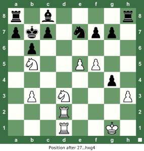 27  hxg4