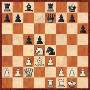 Μαρής Ι. - Νταγιαντάς Εμμ. Θέση μετά από 17...c5